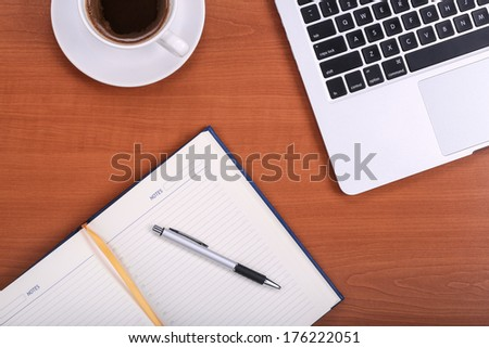 Business planning - stock photo