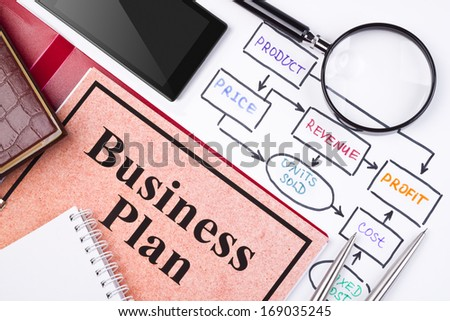 Business planning concept - stock photo