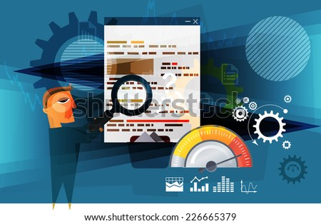 Business Planning - Project Evaluation - Stock Image - stock photo