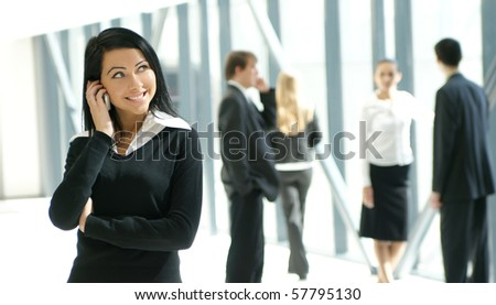 Business portrait - stock photo