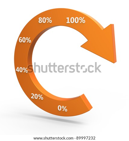 Business process chart - stock photo