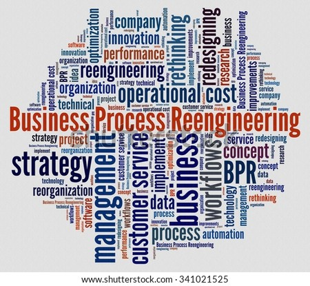 Business Process Reengineering - stock photo