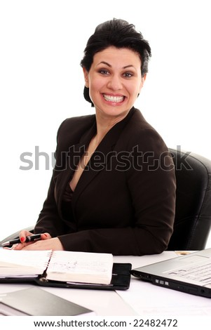business smile - stock photo