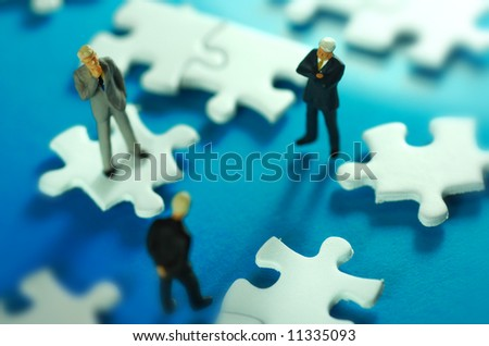 Business Solutions concept. - stock photo