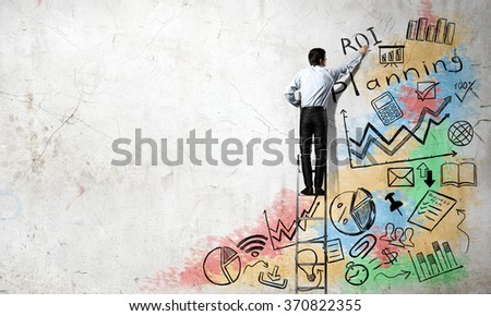 Business strategy and planning  - stock photo