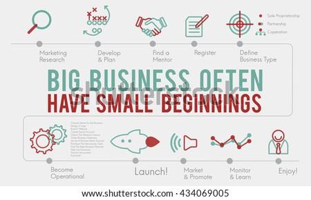 Business Strategy Ideas Plan Progress Concept - stock photo