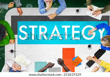 Business Strategy Marketing Concept - stock photo