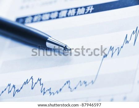 business stuffs - stock photo