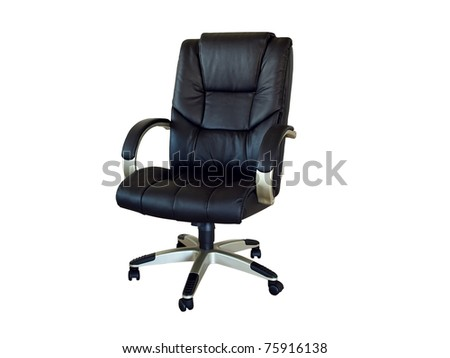 Business style very good quality office arm chair - stock photo