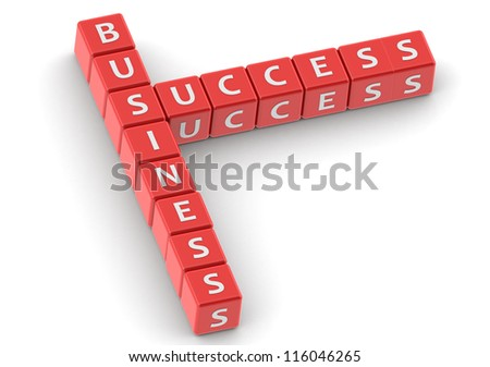 Business success - stock photo