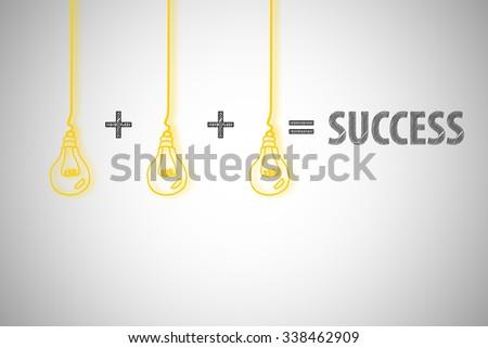 business success concept , business idea , business concept - stock photo