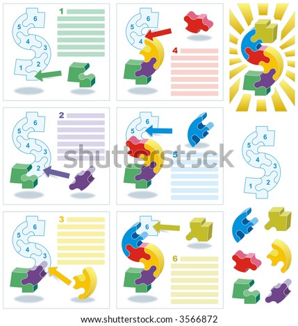 Business success metaphor ready-made mock-up ( for vector EPS see image 3566821 )  - stock photo
