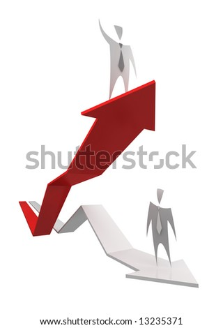 Business Success - more this concepts in my portfolio - stock photo