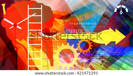Business Targets  Abstract - stock photo