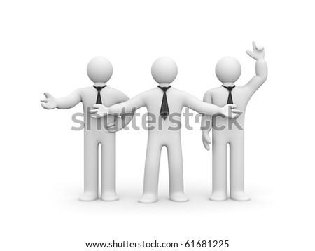 Business team - stock photo