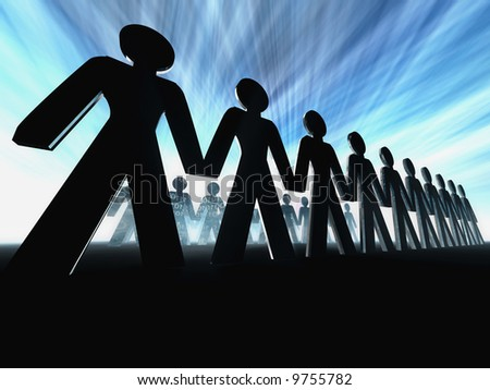 business team concept - stock photo