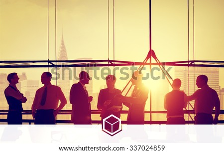Business Team Ideas Brainstorming Meeting Concept - stock photo