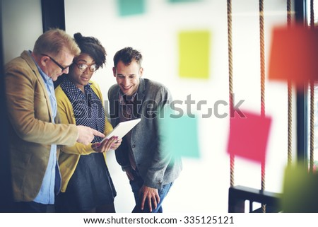 Business Team Meeting Discussion Break Concept - stock photo