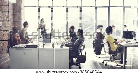Business team Meeting Working Talking Concept