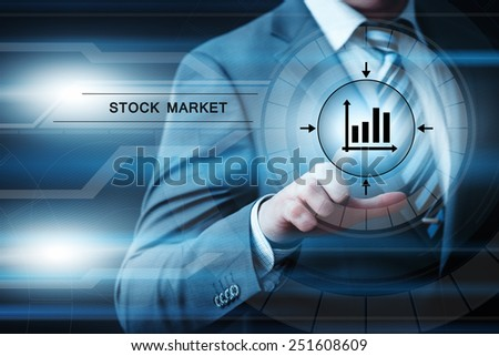 business, technology and internet concept - businessman pressing button on virtual screens - stock photo