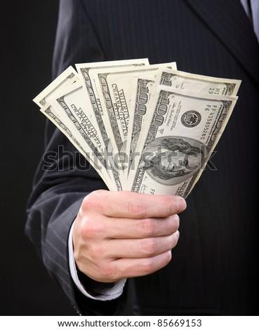 Business the Finance Money - stock photo