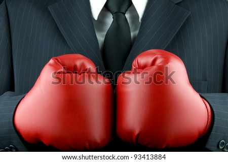Business tough - stock photo