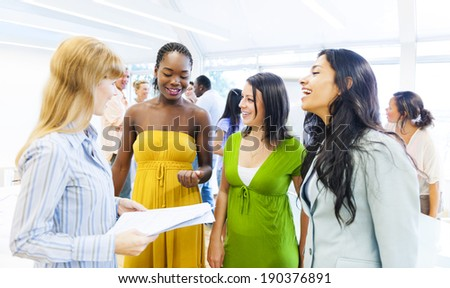 Business Training - stock photo