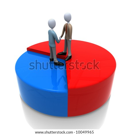 Business Union - stock photo