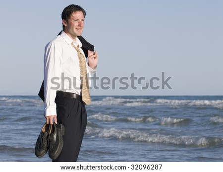 Business Vacation - stock photo