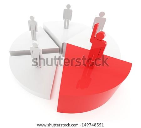 Business winner concept - stock photo