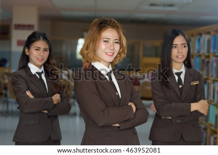 business woman,Concept Team Works