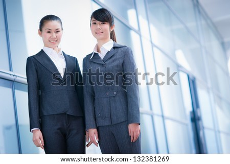 business women in the office