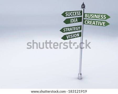 Business Word succes concept - stock photo