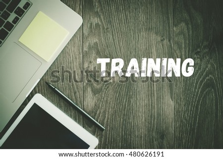 BUSINESS WORKPLACE TECHNOLOGY OFFICE TRAINING CONCEPT