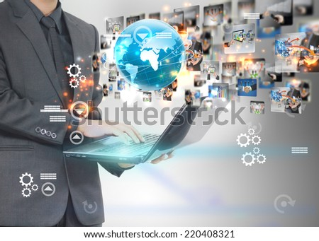 business world.  - stock photo