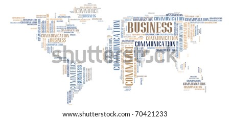 Business world background