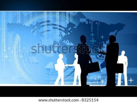Business World Concept - stock photo
