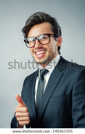businessman confident