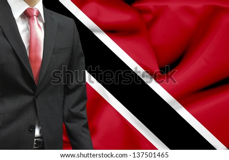 Businessman from Trinidad and Tobago conceptual image