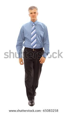 businessman going - stock photo
