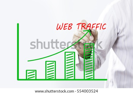 Businessman hand writing web traffic graph stock photo 100 legal businessman hand writing web traffic graph stock photo 100 legal protection 554003524 shutterstock ccuart Image collections