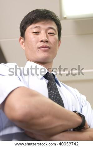 Businessman in business attire - stock photo