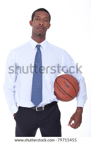 Businessman longing for his younger days - stock photo