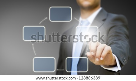 Businessman meeting concept