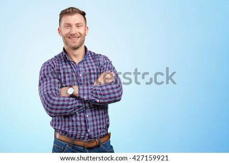 Businessman portrait - stock photo