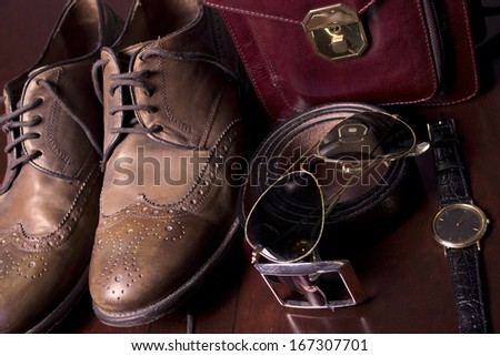 Businessman's accessories