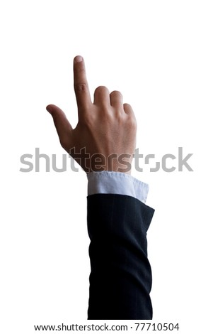 businessman's hand