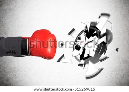 Smashed Concrete Stock Images Royalty Free Images