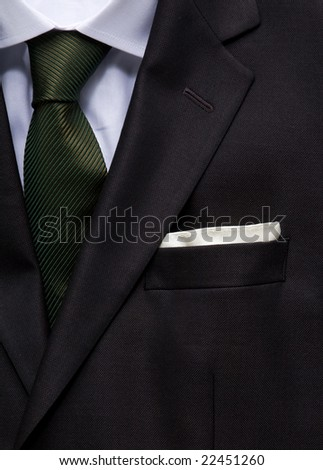 businessman suit - stock photo