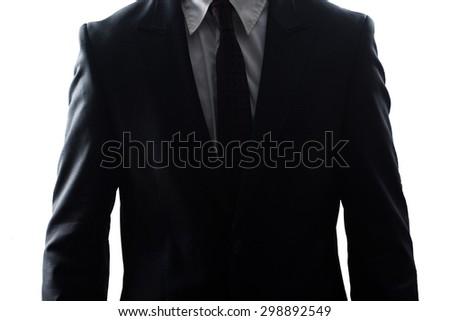 Businessman suit  - stock photo